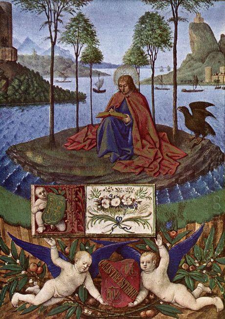 John On Patmos 1460