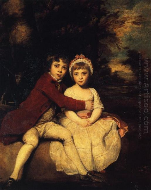 John Parker And His Sister Theresa 1779