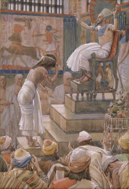 Joseph And His Brethren Welcomed By Pharaoh
