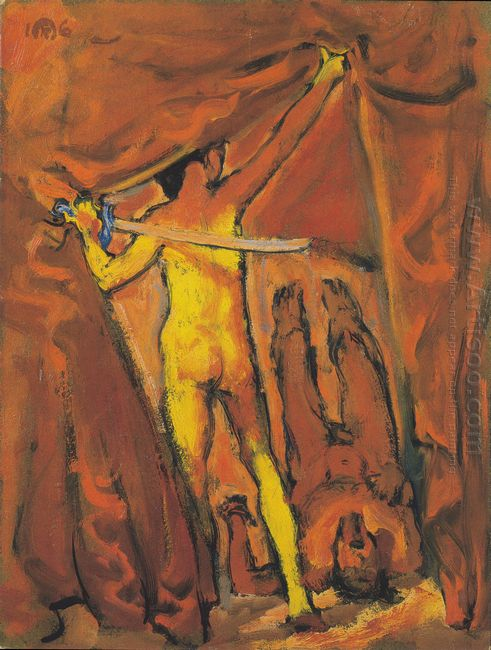 Judith And Holofernes 1916