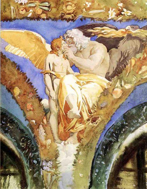 Jupiter Beseeching Eros
