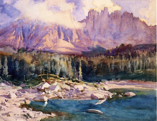 Karer See 1914
