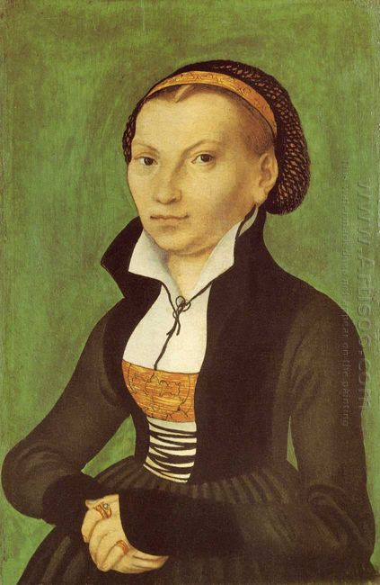 Katharina Von Bora Future Wife Of Martin Luther 1526