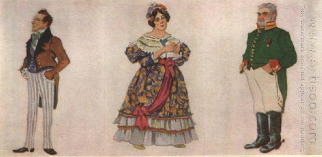 Khlestakov Anna Andreevna Gorodnichiy 1921