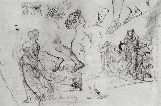 Kleobis And Biton 1827