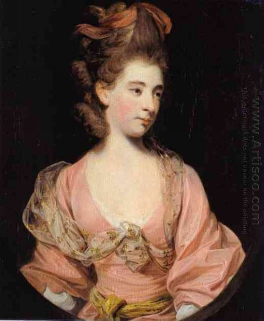 Lady In Pink Said To Be Mrs Elizabeth Sheridan