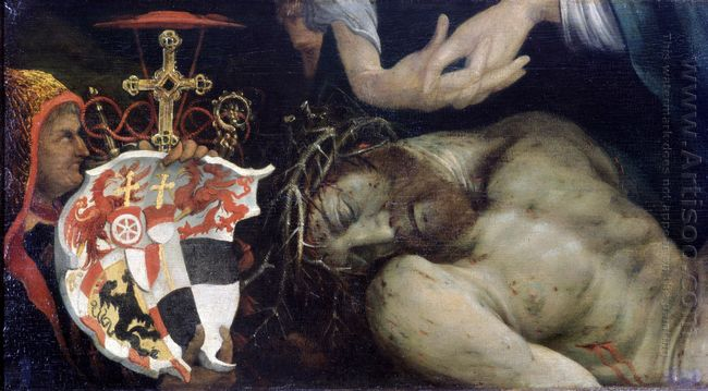 Lamentation Of Christ Detail