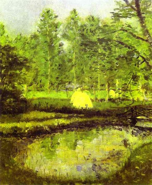 Landscape At Blainville 1902