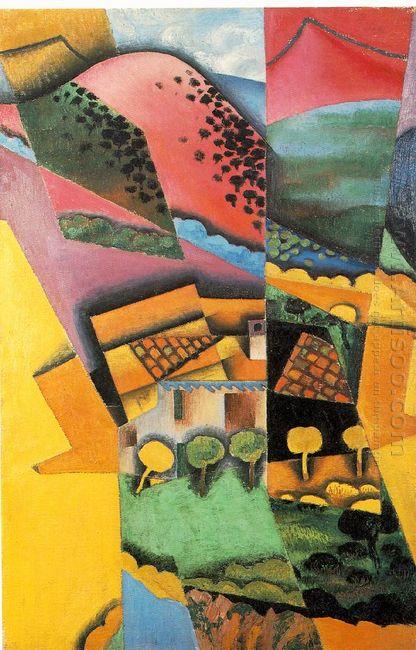 Landscape At Ceret 1913