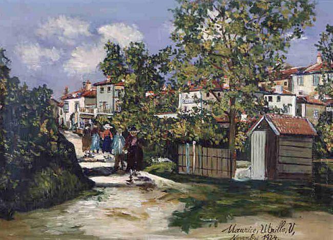 Landscape In Saint Bernard