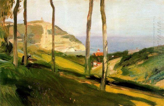 Landscape In San Sebastian