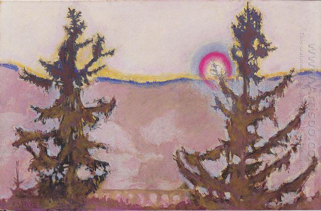 Landscape In Semmering 1913 1