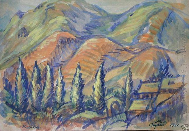 Landscape Kalaki 1962