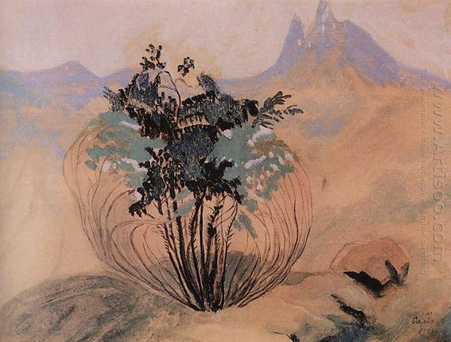 Landscape Mount Aragats 1904