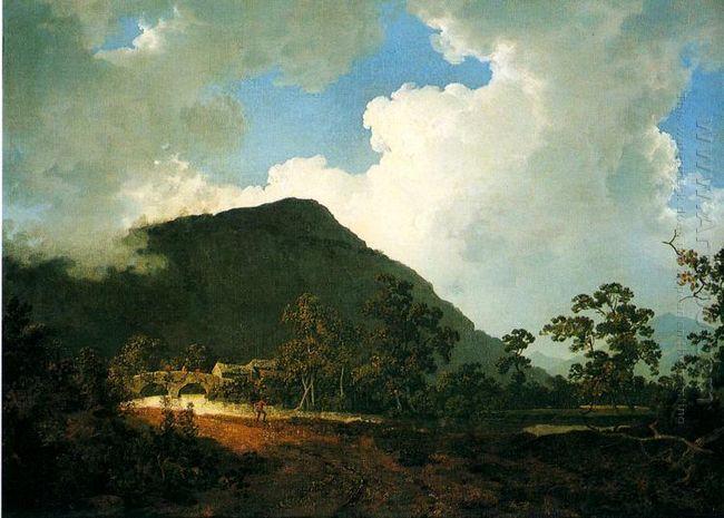 Landscape Near Bedgellert
