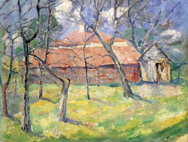 Landscape Near Kiev 1930