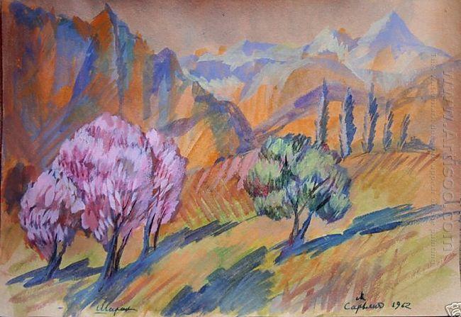 Landscape Shirak 1962