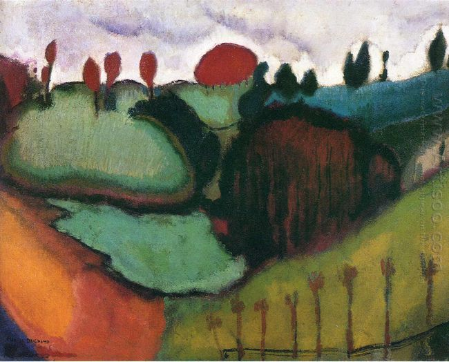 Landscape Study For Paradise 1911