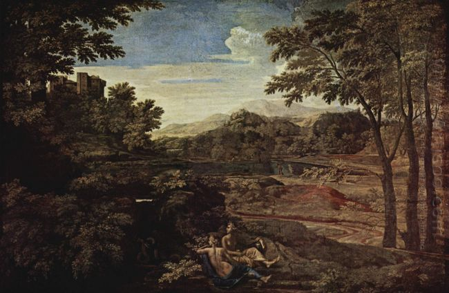 Landscape With A Man Killed By A Snake 1648