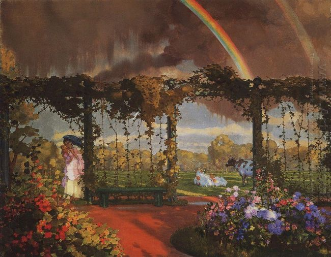 Landscape With A Rainbow 1915
