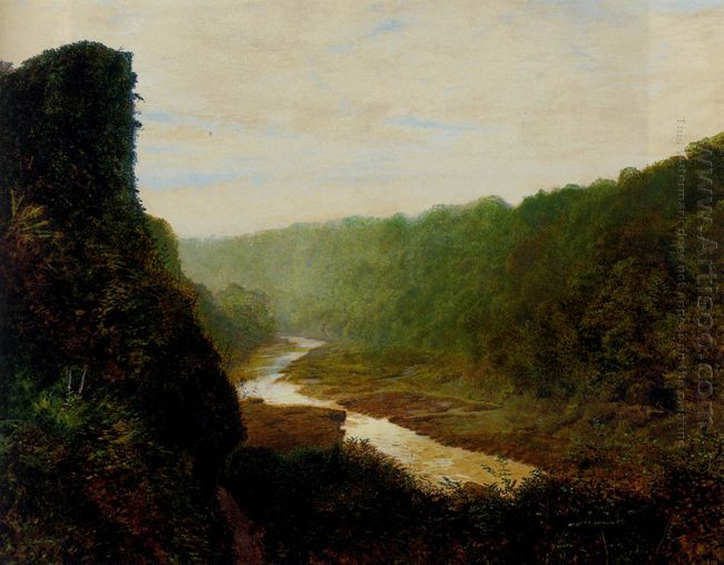 Landscape With A Winding River 1868