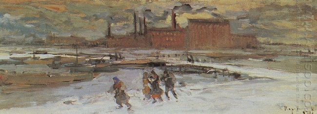 Landscape With Factory Buildings 1908
