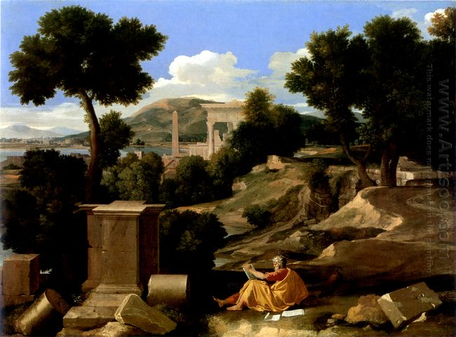 Landscape With St James In Patmos 1640