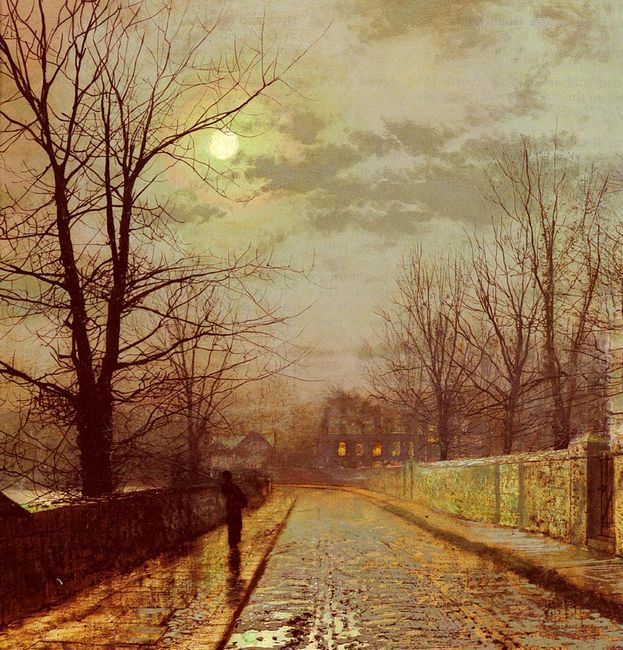 Lane In Cheshire 1883