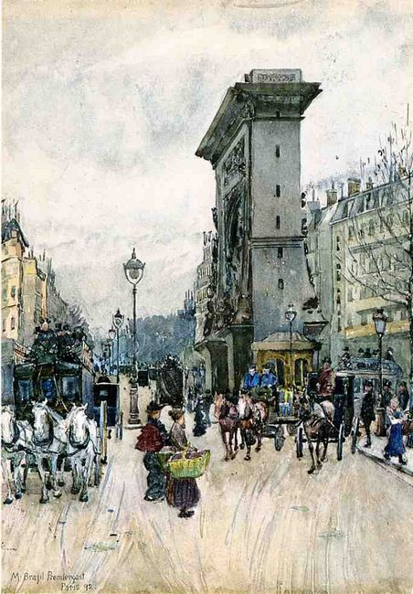 La Porte San Denis 1892