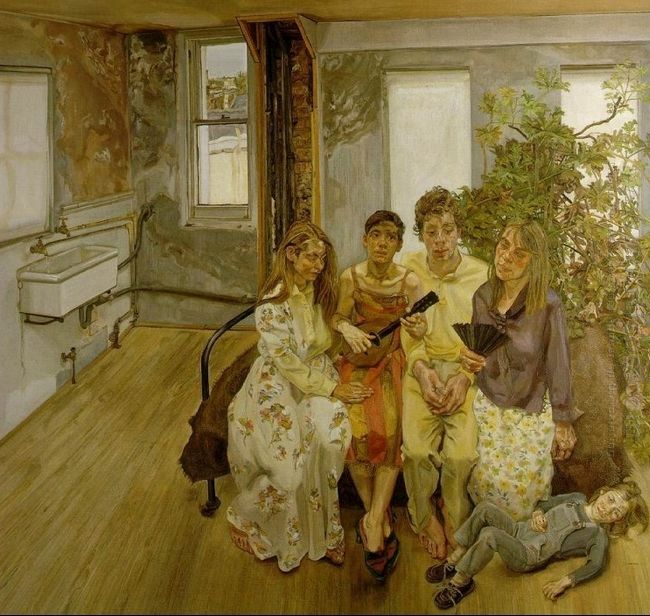 Large Interior W11 After Watteau 1983
