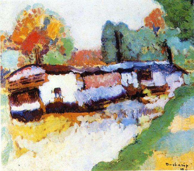 Laundry Barge 1910