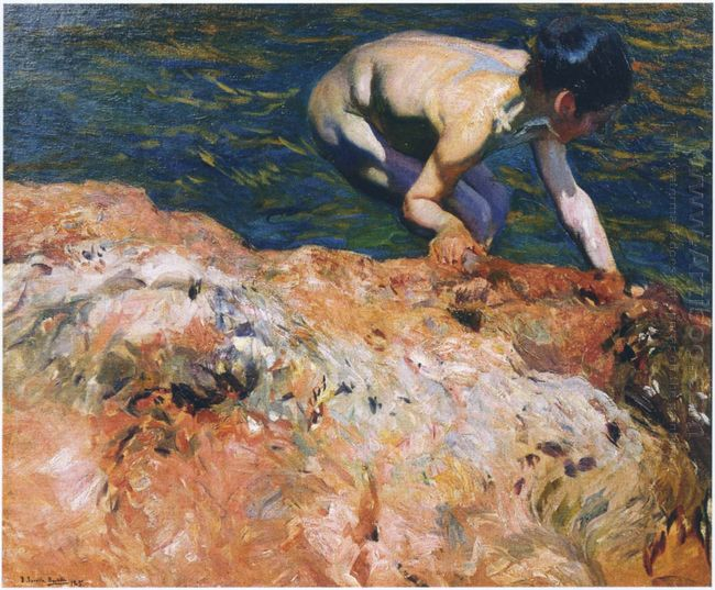 Looking For Shellfish 1905
