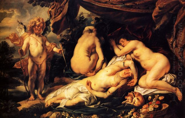 Love Of Cupid And Psyche 1644