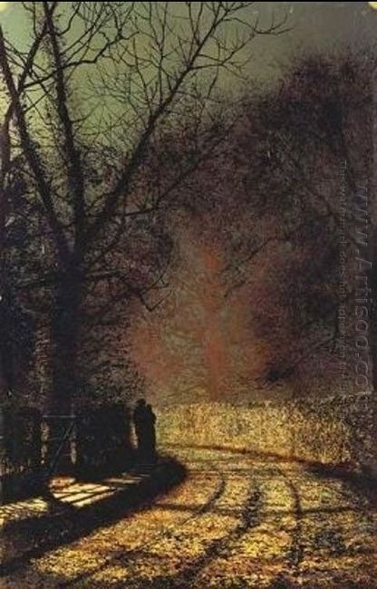 Lovers In A Wood 1873