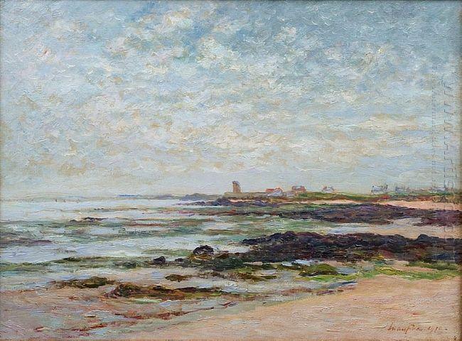 Low Tide Baie De Quiberon 1910