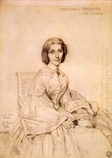 Madame Franz Adolf Von Stuerler Born Matilda Jarman