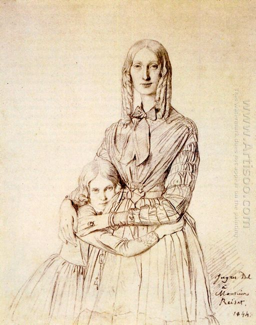 Madame Frederic Reiset Born Augustine Modest Hortense Reiset And