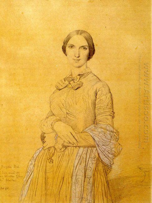 Madame Hippolyte Flandrin Born Aimée Caroline Ancelot