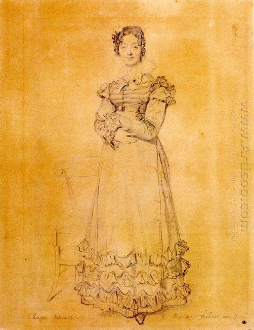 Madame Jacquelles Louis Leblanc Born Françoise Poncelle