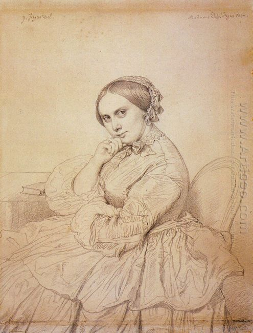 Madame Jean Auguste Dominique Ingres Born Delphine Ramel