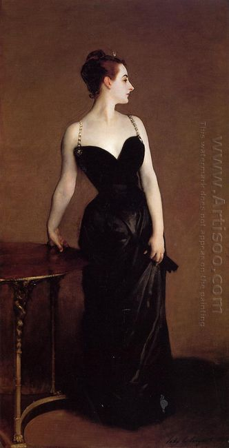 Madame X Also Known As Madame Pierre Gautreau 1884