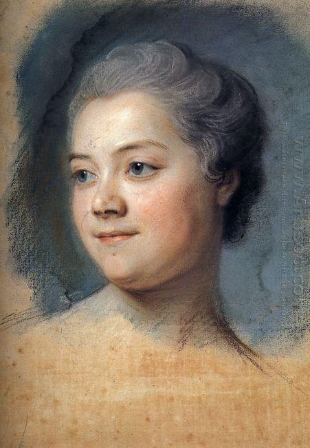 Mademoiselle Chacrylique Sur Toileagner De La Grange
