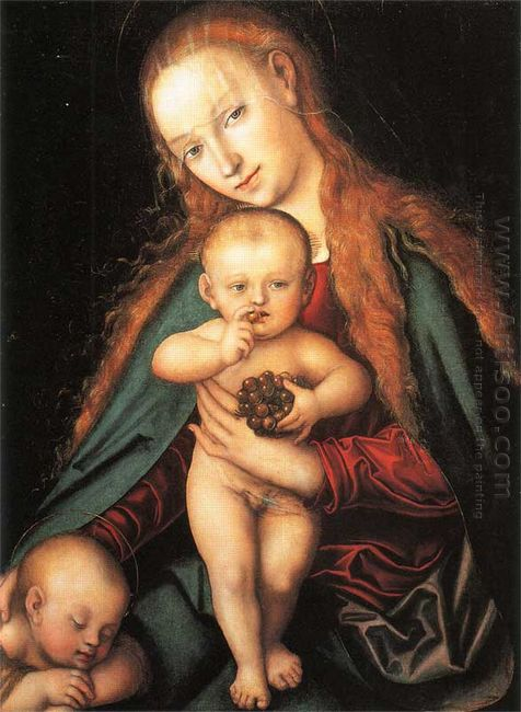 Madonna And Child 1540