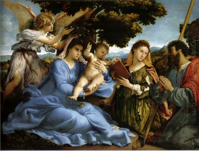 Madonna And St Catherine Of Alexandria St James The Greater And