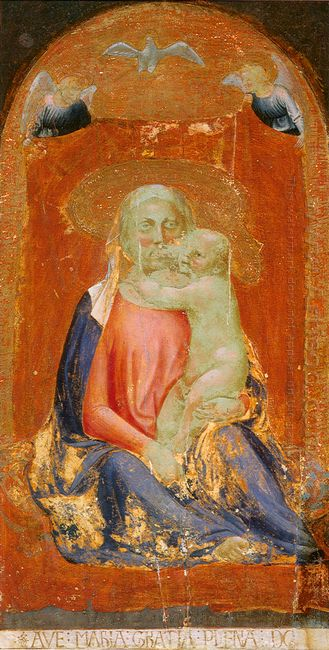 Madonna Of Humility 1420