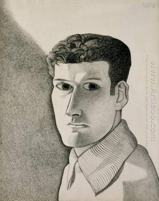 Man At Night Self Portrait 1948