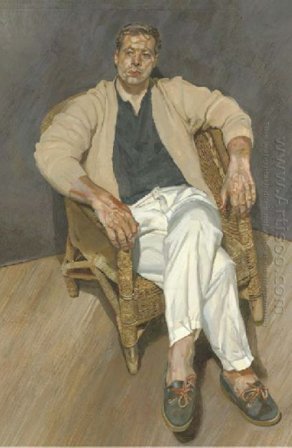 Man In A String Chair 1989