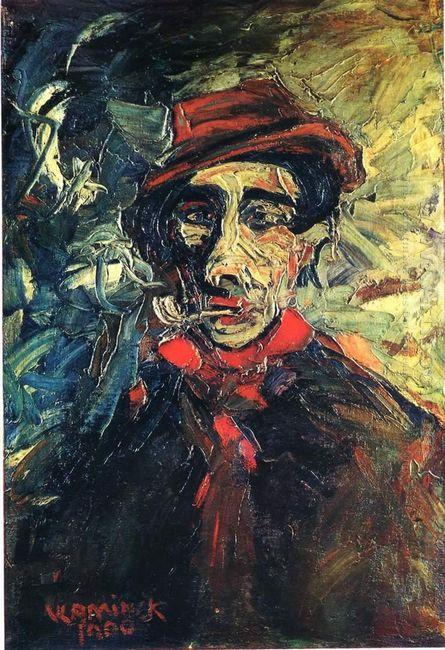 Man Smoking A Pipe 1900