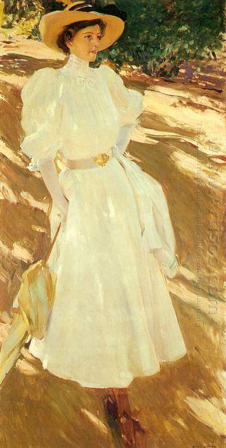 Maria At La Granja 1907