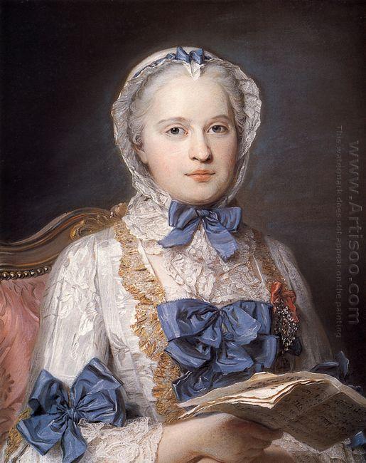 Marie Josephe Of Saxony 1